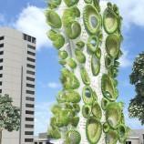 تحلیل و بررسی برج مسکونی سبز به همراه پلان و تصاویر